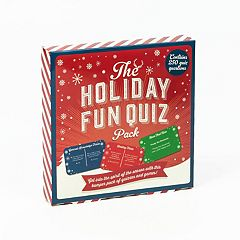 The Holiday Fun Quiz by Professor Puzzle