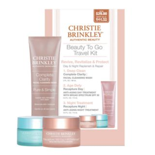 Christie Brinkley Authentic Skincare Beauty To Go Gift Set