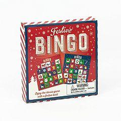 Festive Bingo Game by Professor Puzzle