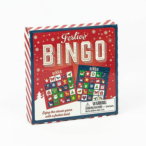 Festive Bingo Game by Professor Puzzle