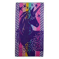 Celebrate Summer Together Unicorn Turkish Cotton Beach Towel