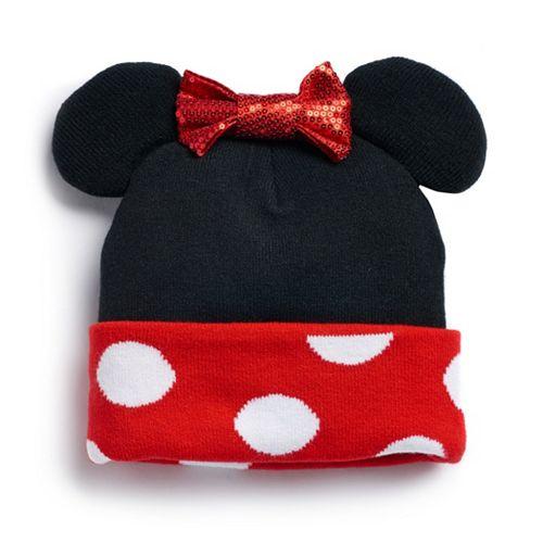 Disney's Minnie Mouse Ears & Bow Knit Beanie