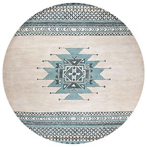 Rizzy Home Angelina Southwest Collection Geometric Rug