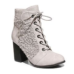 2 Lips Too Larry Women's Lace-Up Ankle Boots