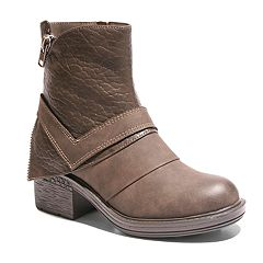 2 Lips Too Mind Women's Moto Ankle Boots