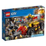 LEGO City Mining Heavy Driller Set 60186