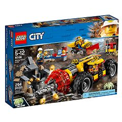 LEGO City Mining Heavy Driller Set 60186