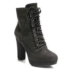 2 Lips Too Rupert Women's High Heel Ankle Boots