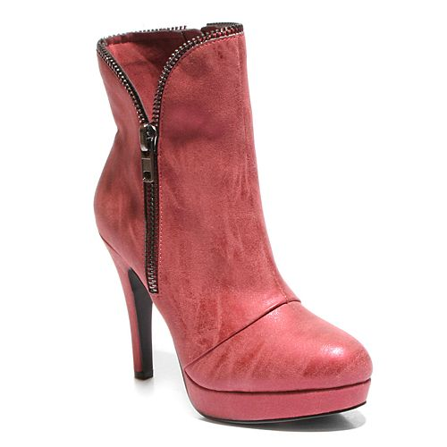 2 Lips Too Sean Women's High Heel Ankle Boots
