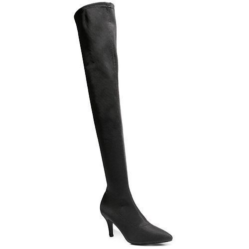 2 Lips Too Perry Women's Stretch Over-The-Knee Boots