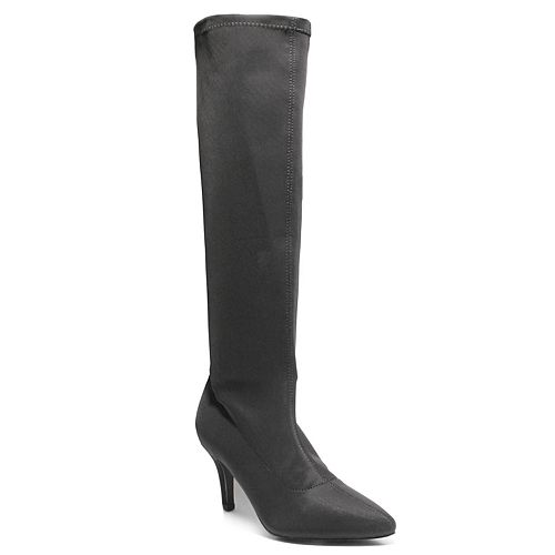 2 Lips Too Pina Women's Stretch Over-The-Knee Boots