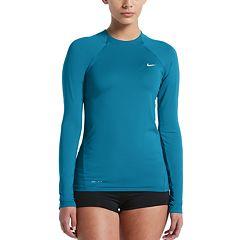 Women's Nike Solid Rash Guard