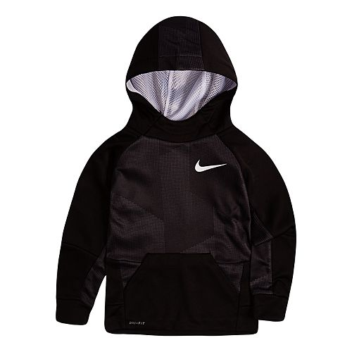 Nike Boys 4-7 Therma-FIT Abstract Hoodie