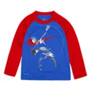 Toddler Boy Nike Dri-FIT Football Player Raglan Top