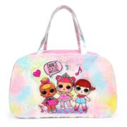 Kids LOL Surprise Fuzzy Duffle Bag