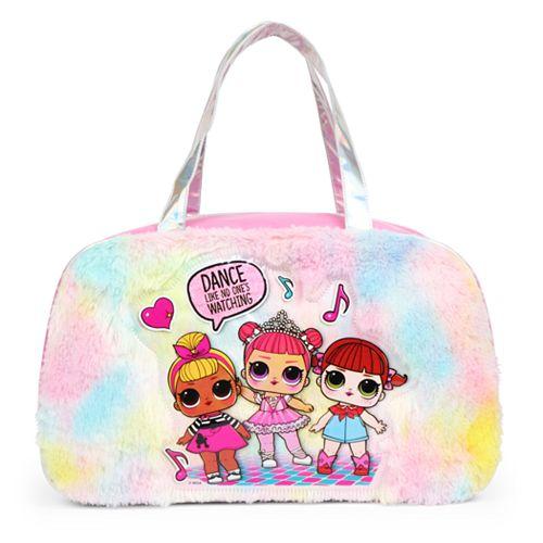 Kids LOL Surprise Fuzzy Duffle Bag
