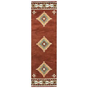 Rizzy Home Athena Southwest Collection Geometric Rug