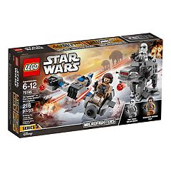 LEGO Star Wars Ski Speeder vs. First Order Walker Microfighters Set 75195
