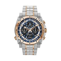Bulova Men's Precisionist Sport Champlain Two Tone Stainless Steel Chronograph Watch - 98B317