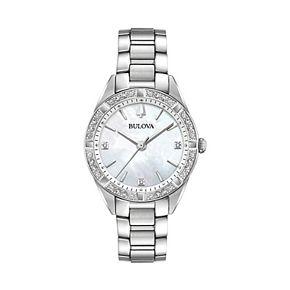 Bulova Women's Sutton Diamond Stainless Steel Watch - 96R228