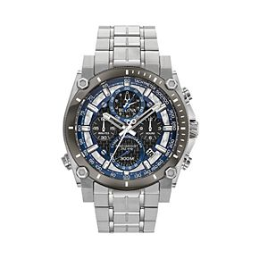 Bulova Men's Precisionist Champlain Stainless Steel Chronograph Watch - 98B316