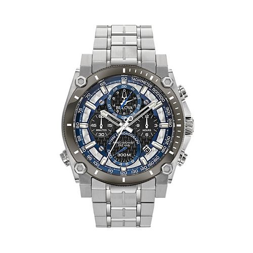 Bulova Men's Precisionist Champlain Stainless Steel Chronograph Watch - 98B316