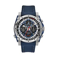 cd99295b809b Bulova Men s Precisionist Champlain Stainless Steel Chronograph Watch -  98B315