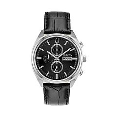Bulova Men's Surveyor Leather Chronograph Watch - 96C133