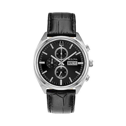 Bulova Men's Surveyor Leather Chronograph Watch - 96C133