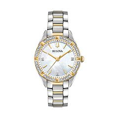 Bulova Women's Sutton Diamond Stainless Steel Watch - 98R263