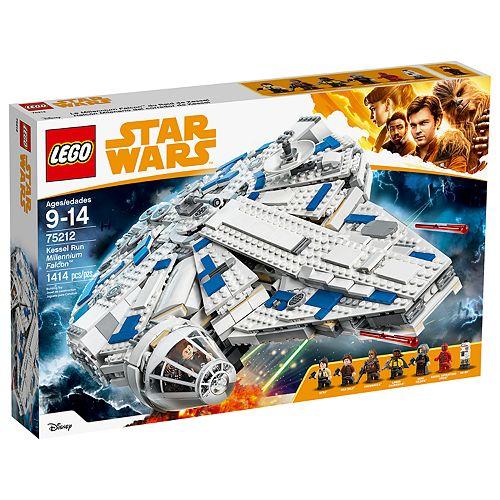 LEGO Star Wars Kessel Run Millennium Falcon Set 75212