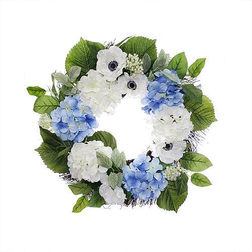 SONOMA Goods for Life™ Artificial Anemone & Hydrangea Wreath