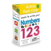Levy Wipe Clean Activity Flash Cards: Numbers