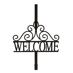 SONOMA Goods for Life™ Over-The-Door 'Welcome' Wreath Hanger