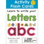 Activity Flash Cards: Learn to Write Your Letters A B C