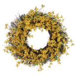 SONOMA Goods for Life? Artificial Forsythia Wreath
