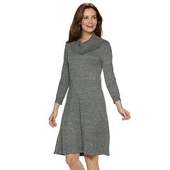 Women's Dana Buchman Cowlneck Sweater Dress