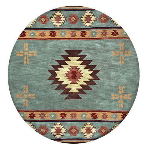 Rizzy Home Angie Southwest Collection Geometric Rug