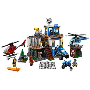LEGO City Mountain Police Headquarters Set 60174