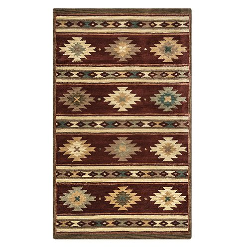 Rizzy Home Alaina Southwest Collection Geometric Rug