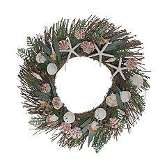 SONOMA Goods for Life™ Starfish & Shells Coastal Wreath