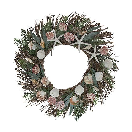SONOMA Goods for Life™ Starfish & Shells Coastal Wreath