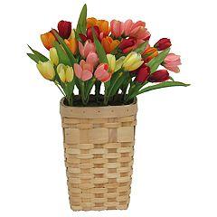 SONOMA Goods for Life™ Artificial Flower Basket Wall Decor