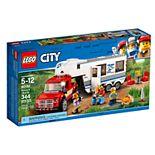LEGO City Pickup & Caravan Set 60182