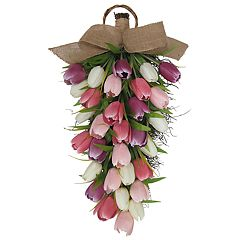 SONOMA Goods for Life™ Artificial Tulip Teardrop Wall Decor