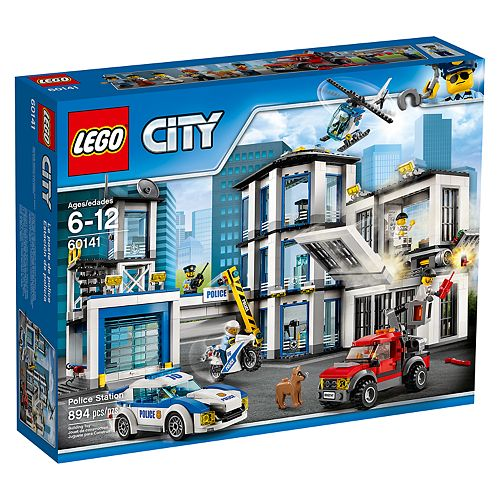 LEGO City Police Station Set 60141