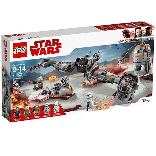LEGO Star Wars Defense of Crait Set 75202