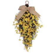 SONOMA Goods for Life? Artificial Forsythia Teardrop Wall Decor