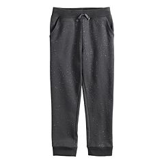 Girls 4-12 Jumping Beans® Fleece Jogger Pants