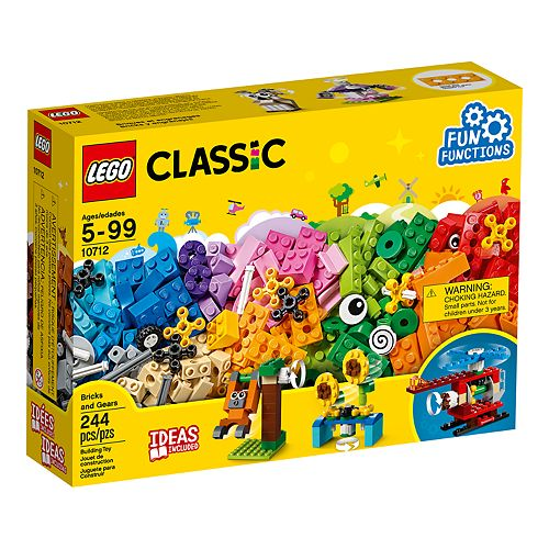 LEGO Classic Bricks and Gears Set 10712